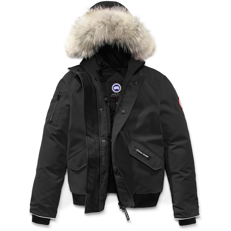2be42596a Black. Canada Goose Youth Rundle Bomber ...