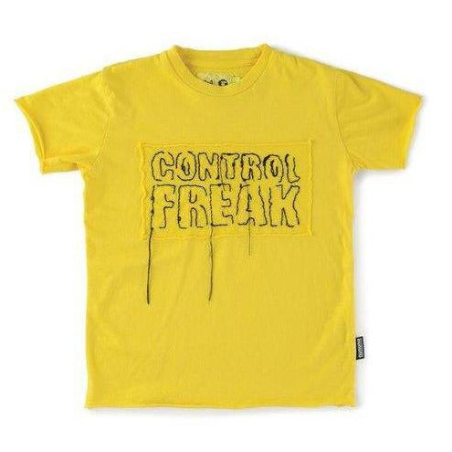 Embroidered Control Freak T-Shirt