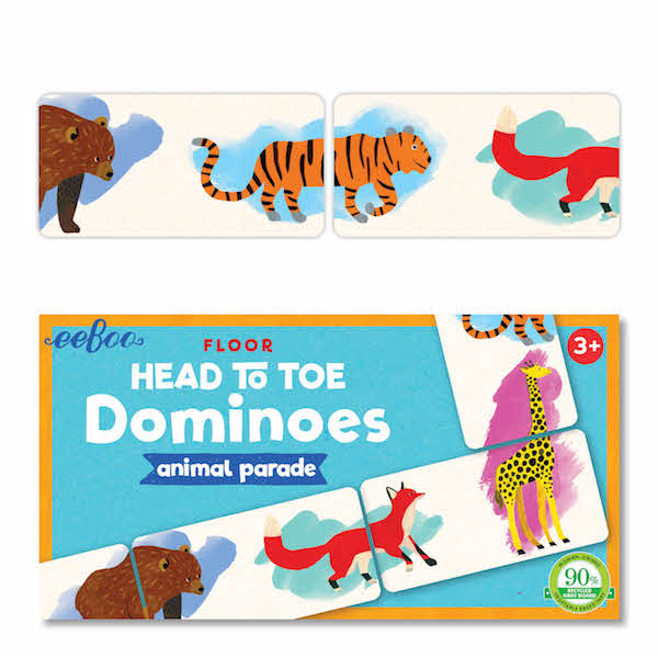 Eeboo Head to Toe Dominoes
