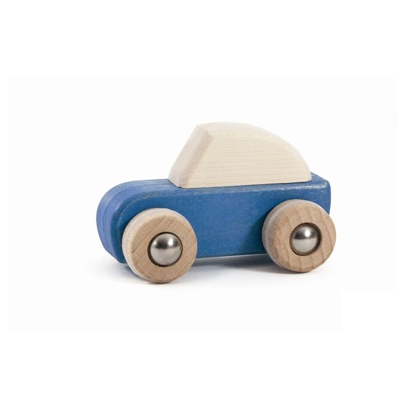 Bajo Pull Back Car- Blue
