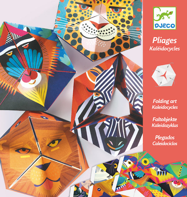 Djeco Folding Art- Flexanimals