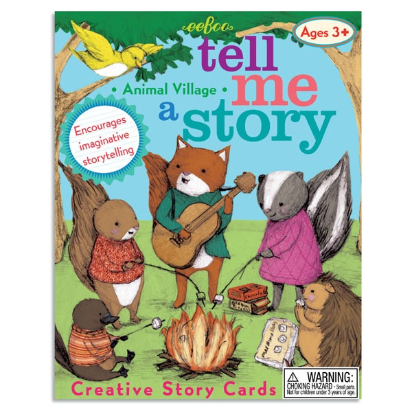 eeBoo Tell Me A Story- Animal Village