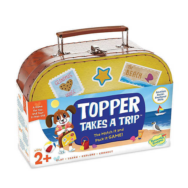 Topper Takes a Trip Suitcase