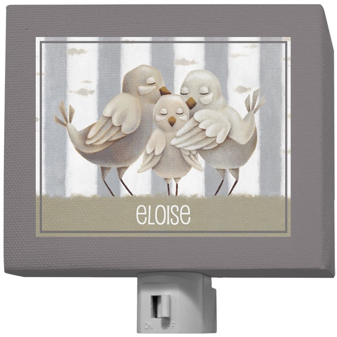 Oopsy Daisy Night Lights Forest Families Birds
