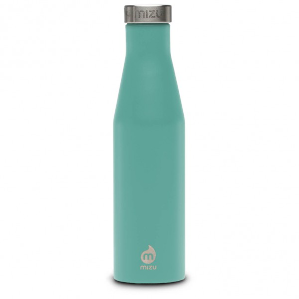 Mizu S6 Enduro Drinking Bottle Spearmint with Stainless Lid, 600 ML