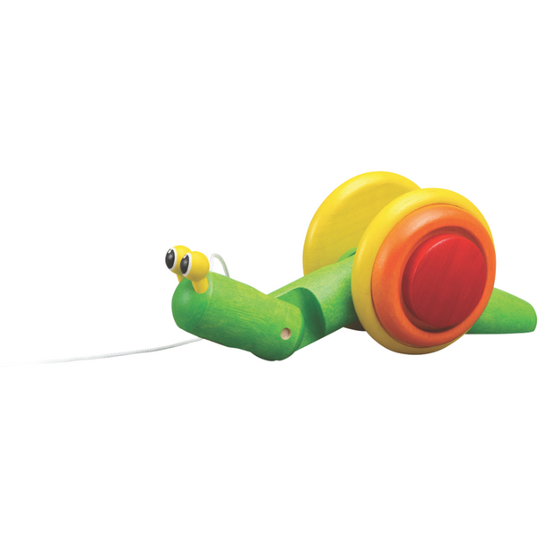 Plan Toys Snail Pull Toy Original
