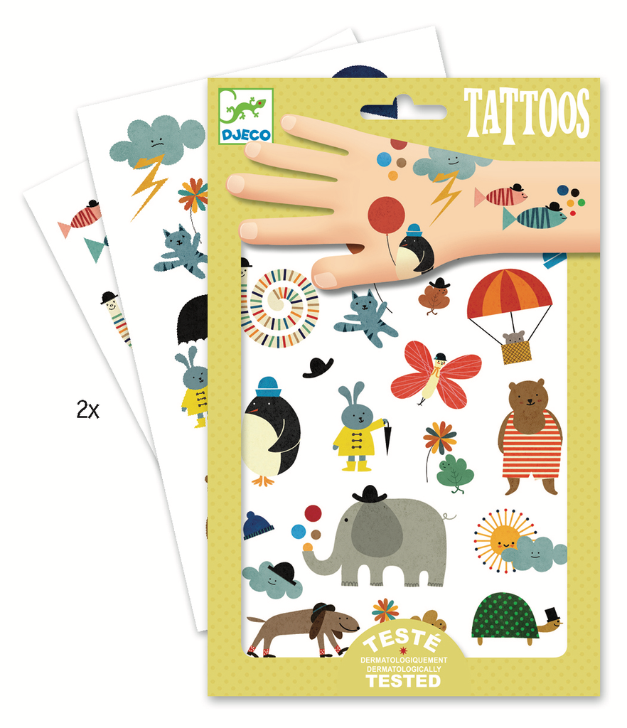Djeco Tattoos- Pretty Little Things