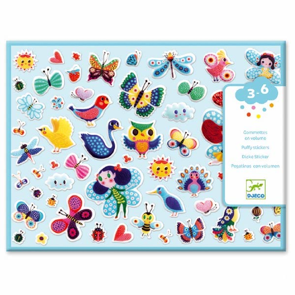 Djeco Puffy Stickers- Little Wings