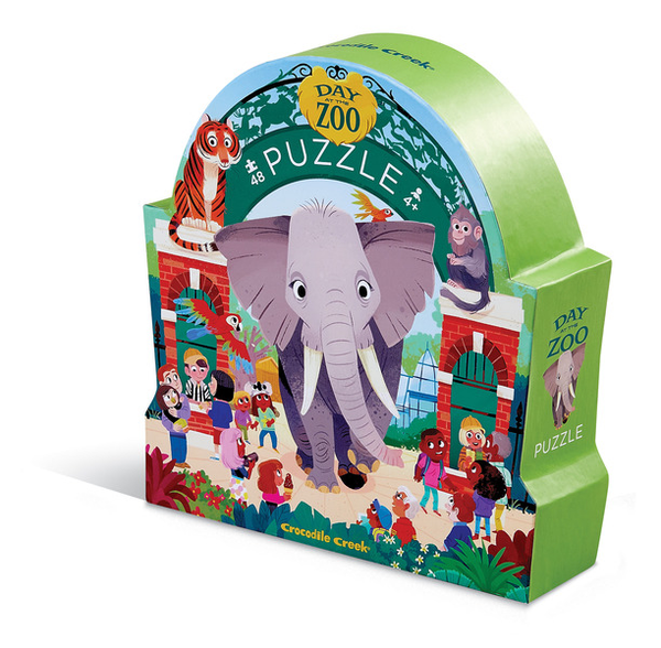Crocodile Creek Museum Puzzle- Zoo