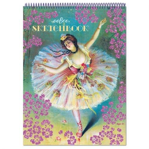 Eeboo Sketchbook -Ballerina Flower