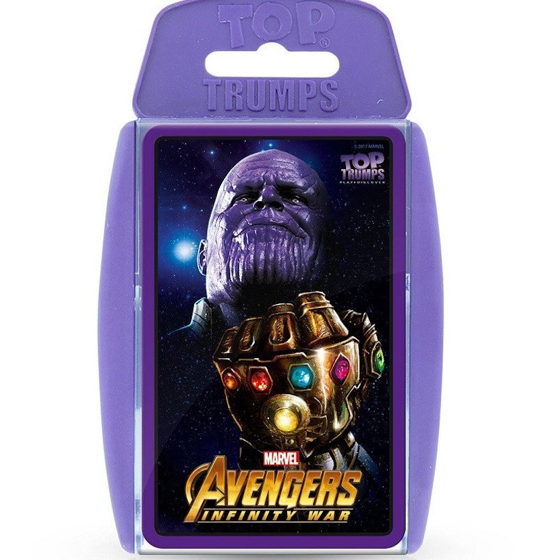 Top Trumps- Avengers Infinity War