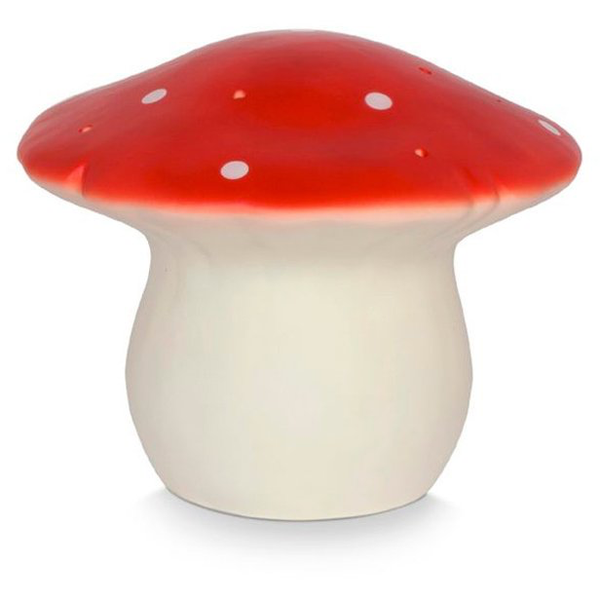 Medium Mushroom LED Light Red, 26cmX20cm
