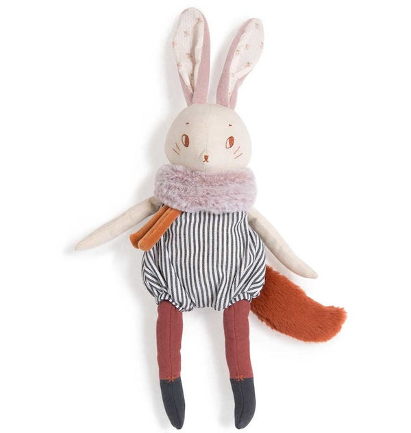 Moulin Roty Apres la Pluie - Plume the Rabbit Soft Toy (44cm)