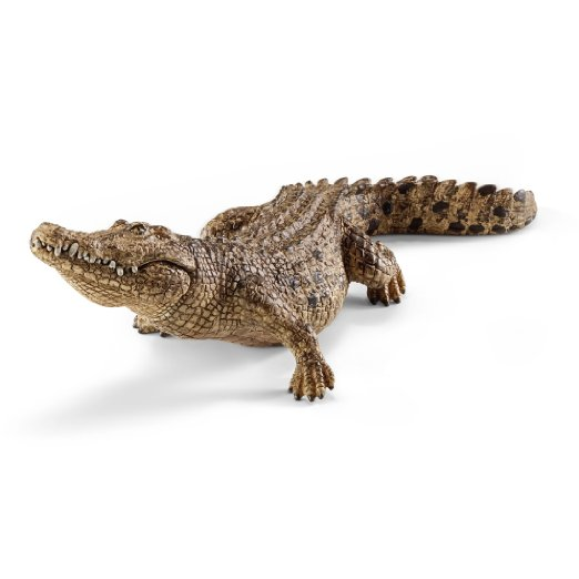 Schleich Crocodile with Moving Jaw