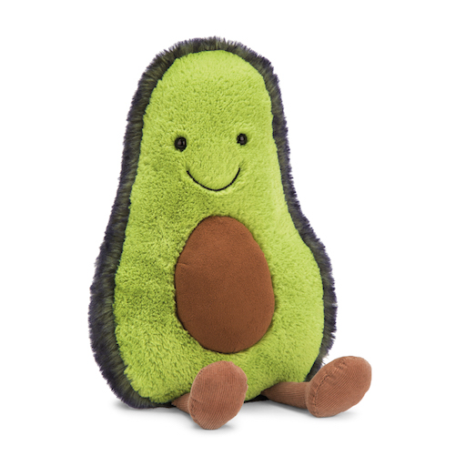 Amuseables Avocado, 13 In.