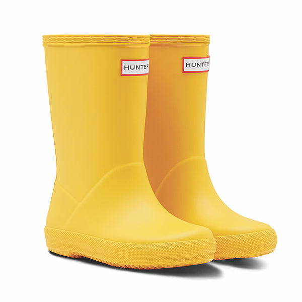 Hunter Kids First Matte yellow