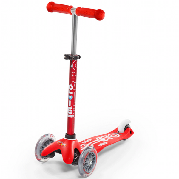 Mini Micro Deluxe Scooter- Red