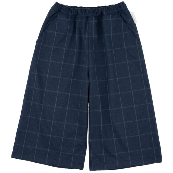 Tiny Cottons Grid Flannel Cool Pant