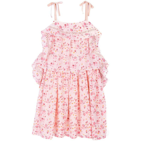 Velveteen Lois Sleeveless Princess Frill Dress