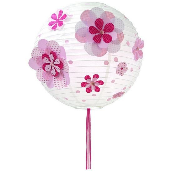 Djeco Decor- Lantern-Dots and Flowers