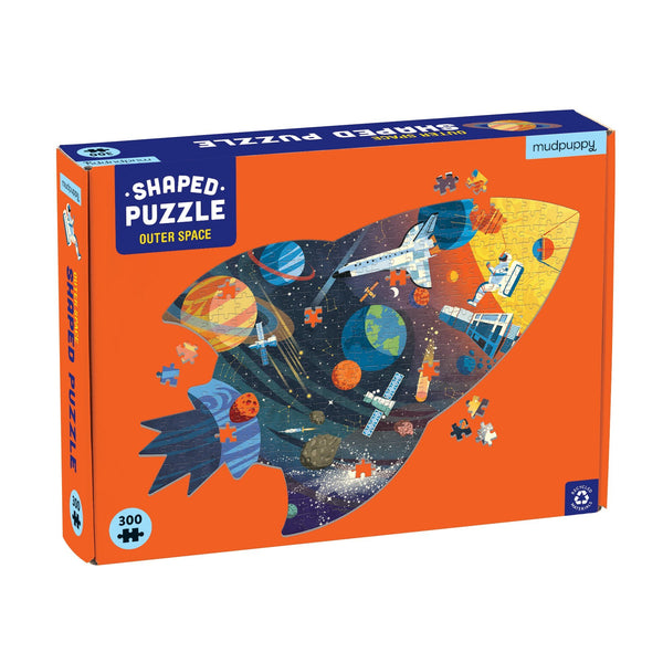 Shaped Scene Puzzle - Outer Space, 300 pcs