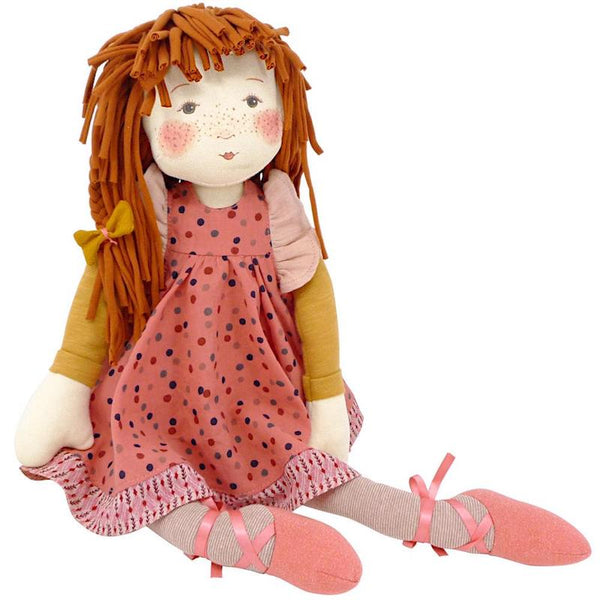 Moulin Roty Les Rosalies - Anemone Rag Doll (57cm)