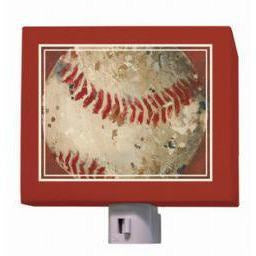 Oopsy Daisy Night Lights-Vintage Baseball by Aaron Christensen