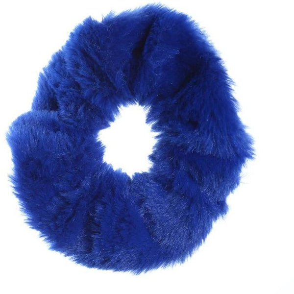 Hair Scrunchie- Blueberry