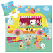 Djeco Silhouette Puzzle - The Ice Cream Truck 16 pcs