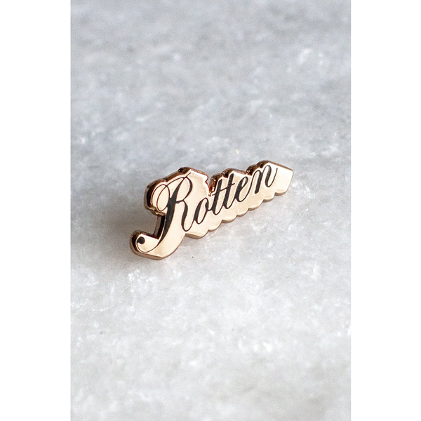 Stay Home Club Rotten Lapel Pin