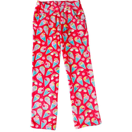 Candy Pink Fleece Pant
