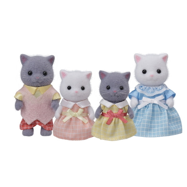 Calico Critters BL Persian Cat Family