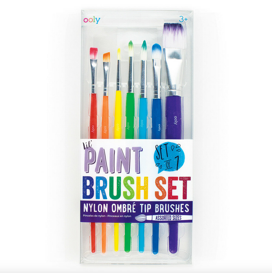 Lil Paint Brushes - Set of 7