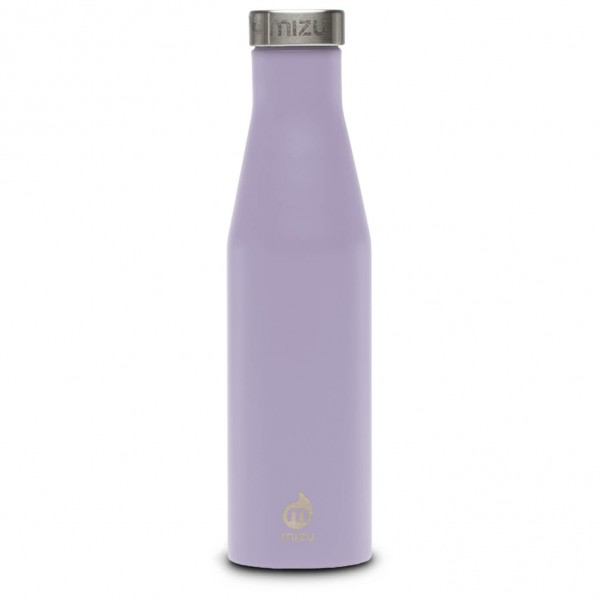 Mizu S6 Enduro Drinking Bottle Lavendar with Stainless Lid, 600 ML