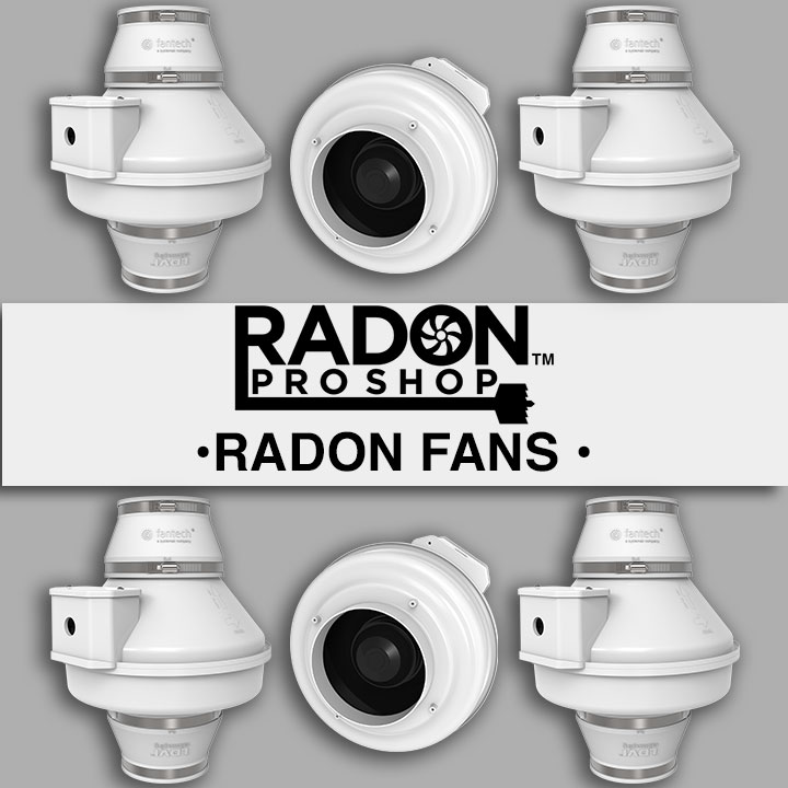Radon Mitigation Fans