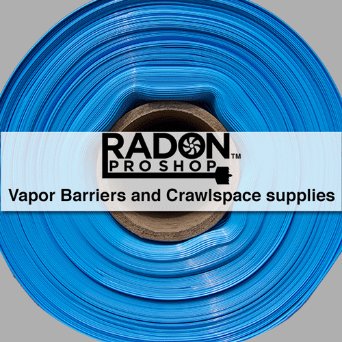 Vapor Barriers and Crawlspace supplies