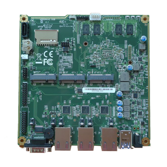 PC Engines APU, APU2, APU3 Boards