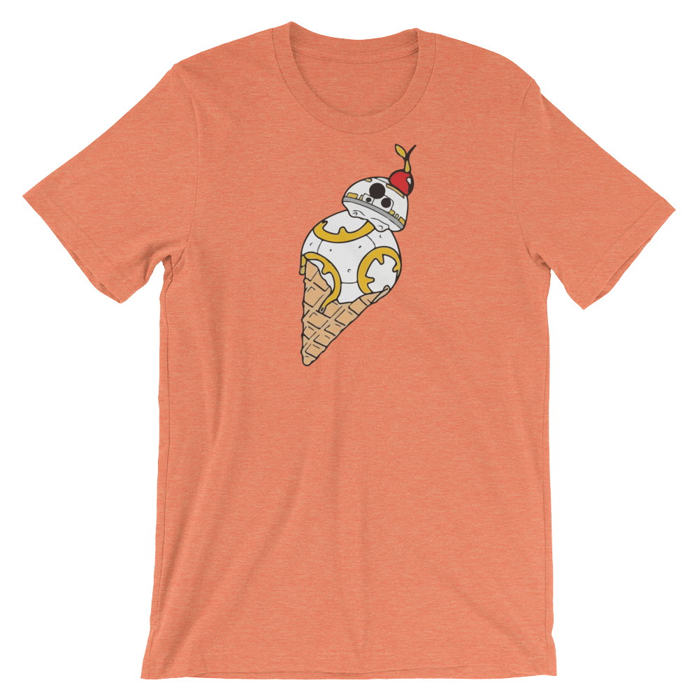 BB-8 Ice Cream Tee simpsons tshirt - SimpPrints