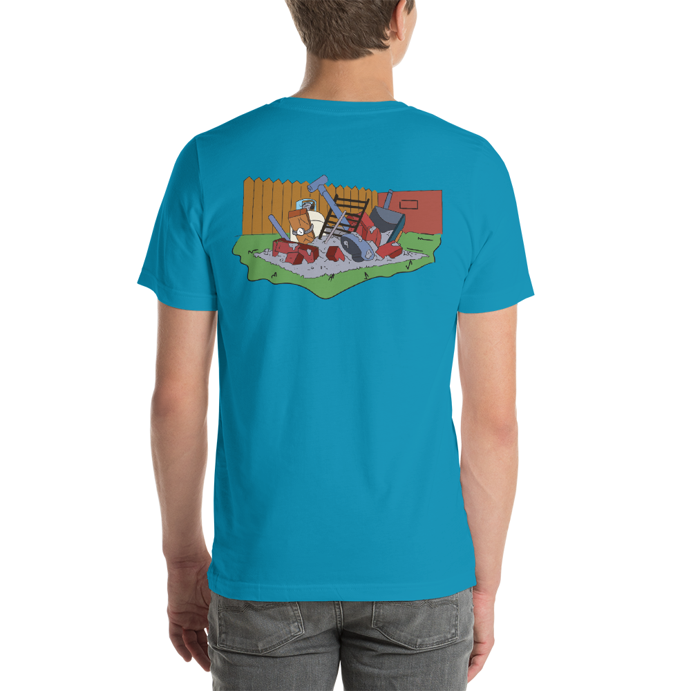 Backprint Le Grille Tee simpsons tshirt - SimpPrints