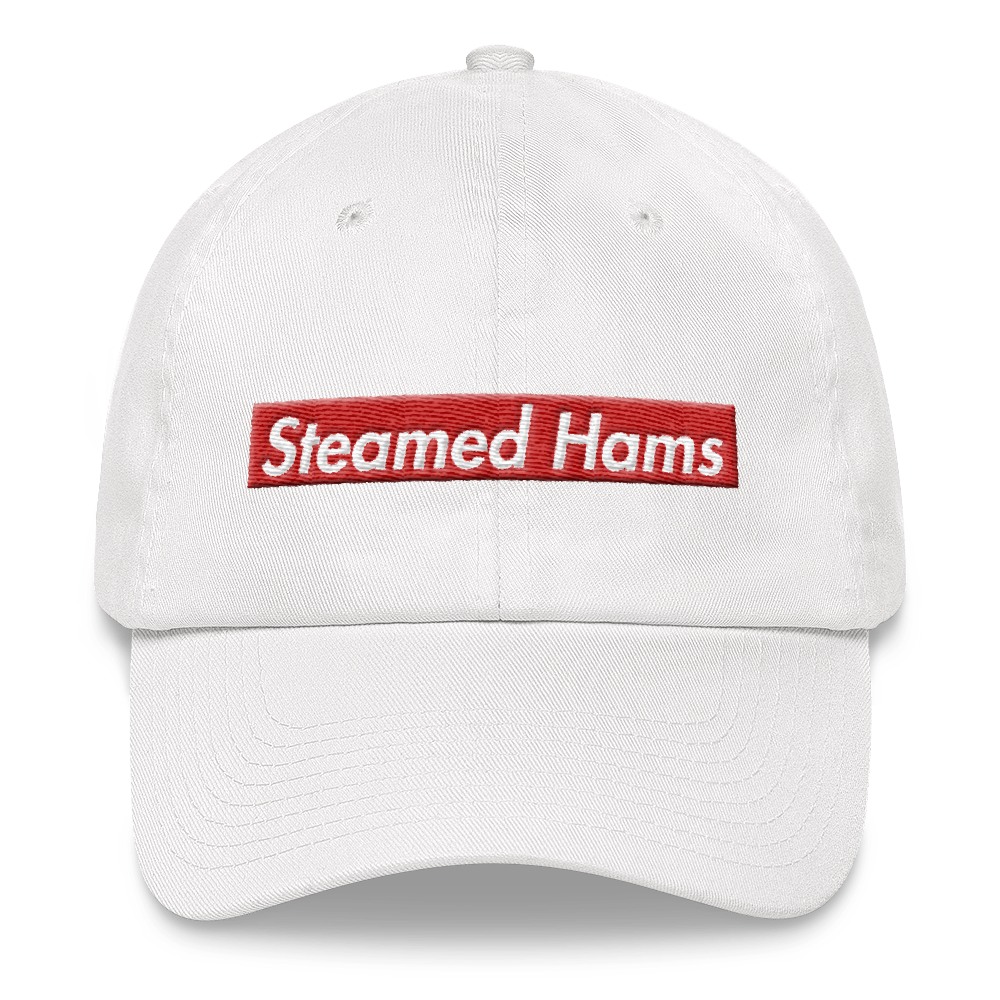 Steamed Hams Dad hat simpsons tshirt - SimpPrints