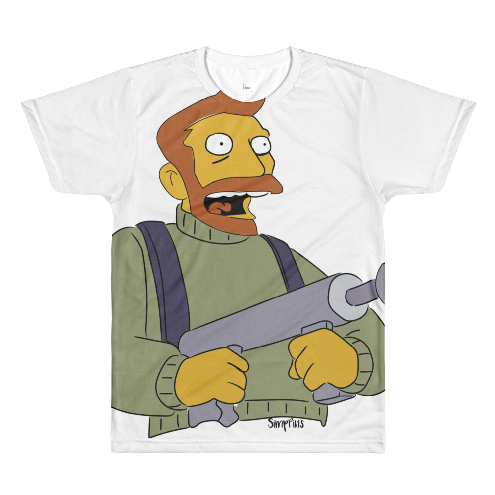 Hank Scorpio men's crewneck t-shirt simpsons tshirt - SimpPrints