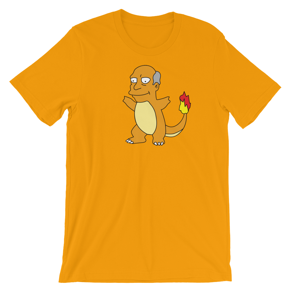 Chalmander Tee simpsons tshirt - SimpPrints