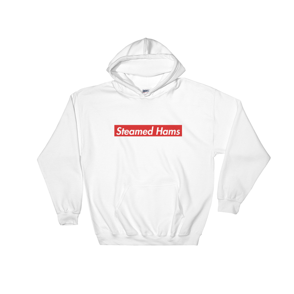 Steamed Hams Hooded Sweatshirt simpsons tshirt - SimpPrints