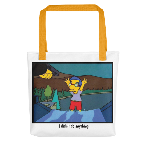 Tote bag simpsons tshirt - SimpPrints