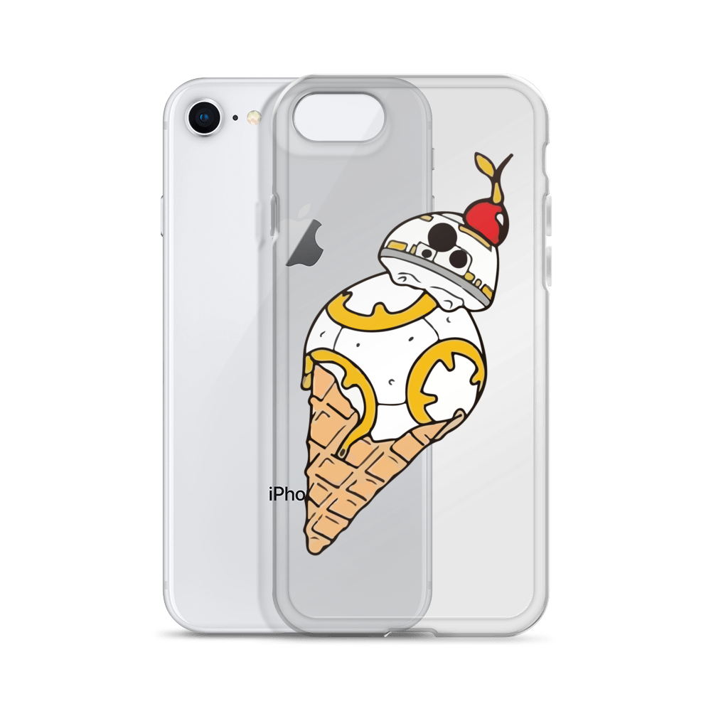 BB-8 Ice Cream iPhone Case simpsons tshirt - SimpPrints