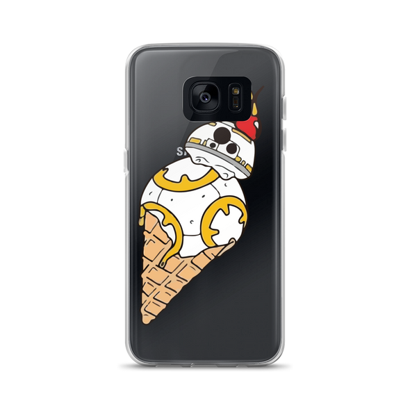 BB-8 Ice Cream Samsung Case simpsons tshirt - SimpPrints