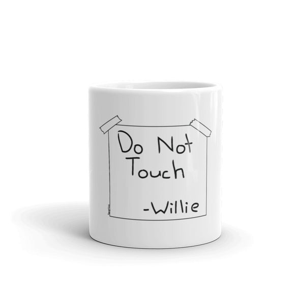 Do not touch Mug simpsons tshirt - SimpPrints
