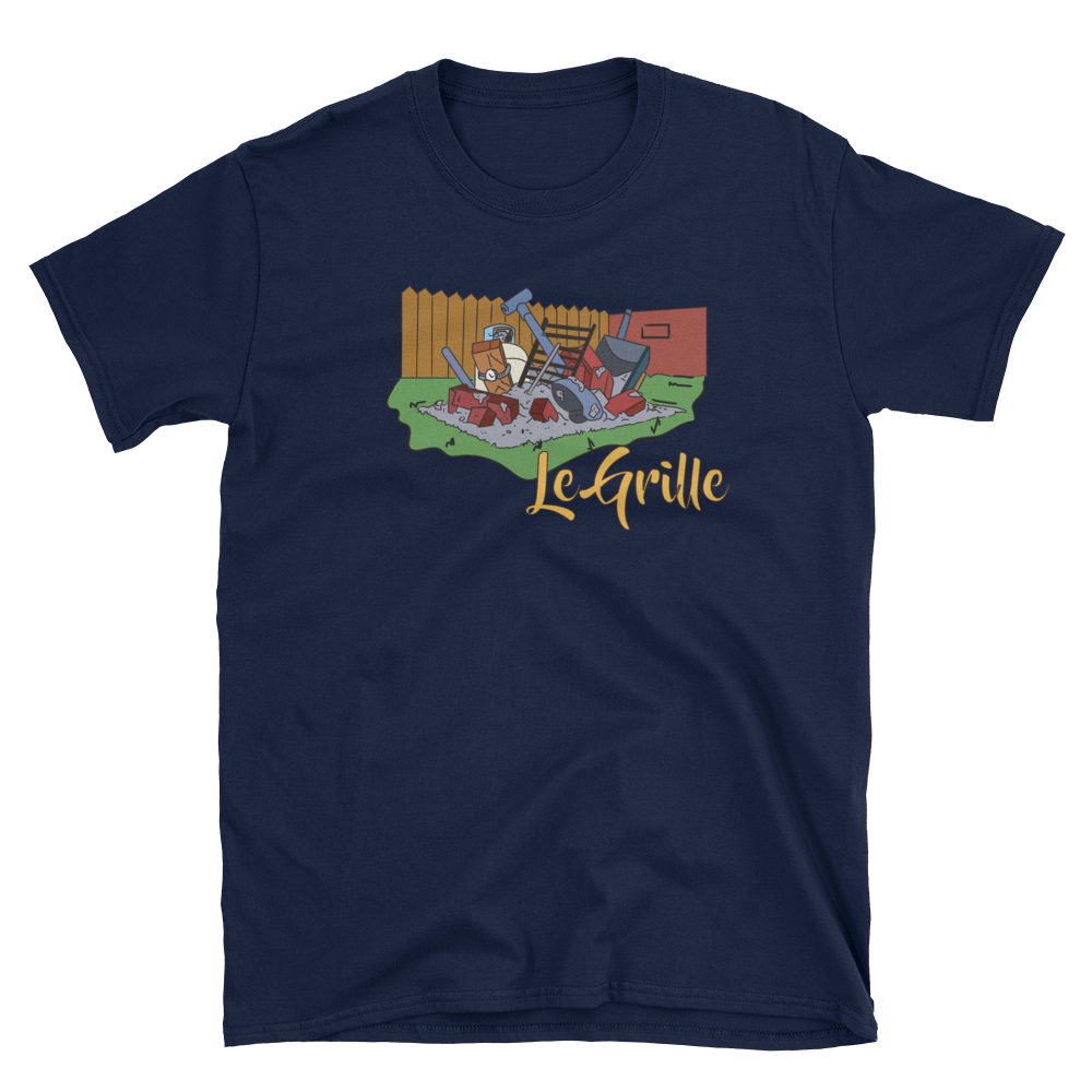 Le Grille Tee simpsons tshirt - SimpPrints