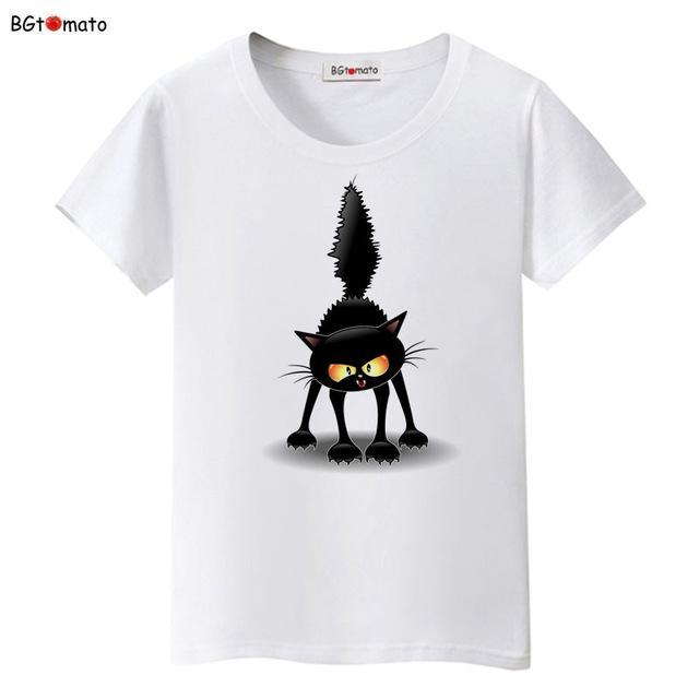 cutecatslovers 6 / S Classy Black Cat T-Shirt