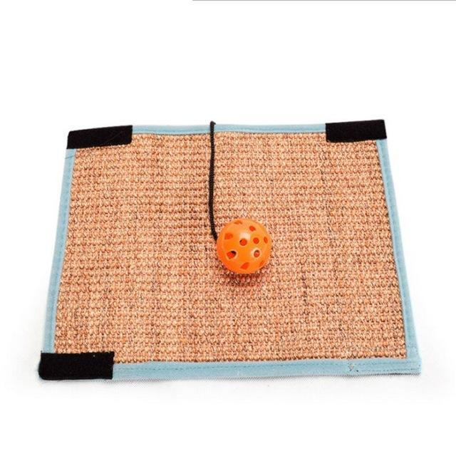 cutecatslovers B / M / China Scratching Board Mat Pad Cat Sisal Loop Carpet Scratcher For Indoor Home Furniture Table, Chair, Sofa, Legs Protector